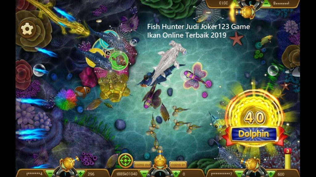 Fish Hunter Judi Joker123 Game Ikan Online Terbaik 2019